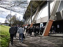 NT2774 : Main stand, Meadowbank Stadium by Richard Webb