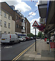 SP2764 : Market Street and Westgate House, Warwick by Robin Stott