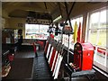 SH8830 : Llanuwchllyn signal box - interior by Richard Hoare