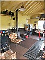 SH8830 : Llanuwchllyn signal box - interior 2 by Richard Hoare