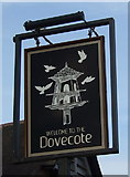 SP5397 : Sign for the Dovecote public house, Narborough by JThomas