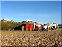 TQ2804 : Mrs Bumbles Cafe, Western Esplanade, Hove by Simon Carey