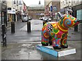 NZ2464 : Great  North Snowdog Psychedelic Snowdog, Ridley Place, Newcastle upon Tyne by Graham Robson