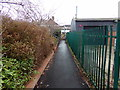 TM1279 : Path to Diss Railway Station by Adrian Cable