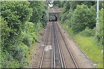 TQ5246 : Redhill to Tonbridge Line by N Chadwick