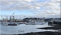 SW8132 : Falmouth Harbour by Jonathan Hutchins