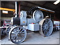 SD3285 : Old Hall Farm - replica road locomotive by Chris Allen