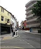 ST1876 : Quay Street, Cardiff city centre by Jaggery