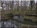 SE3402 : Footbridge near Worsbrough by Paul Harrop