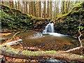 NJ4261 : Waterfall on the Buinnach Burn by valenta