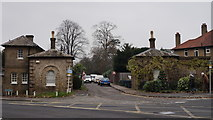 TQ3770 : Entrance Lodges, Beckenham by Peter Trimming
