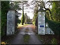 SO8035 : Entrance to Birtsmorton Court by Philip Halling