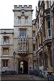 SP5105 : Pembroke College in Oxford by Steve Daniels