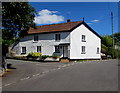 SX9984 : White cottage on a Lympstone corner by Jaggery