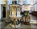 SJ8391 : Christ Church Pulpit by Gerald England