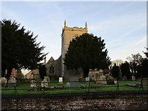SK8354 : All Saints' church, Coddington by Jonathan Thacker