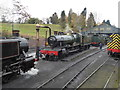 SO7192 : Bridgnorth Station - shed yard by Chris Allen