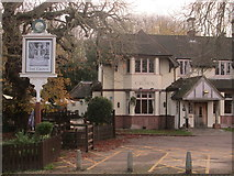 TL3706 : The Crown, Broxbourne by Peter S