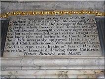 TF6120 : St Nicholas' Chapel, King's Lynn: memorial (20) by Basher Eyre