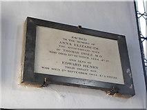 TF6120 : St Nicholas' Chapel, King's Lynn: memorial (27) by Basher Eyre