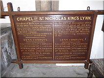 TF6120 : Inside St Nicholas' Chapel, King's Lynn (33) by Basher Eyre