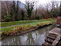 ST2192 : Reflections on the canal, Pontywaun by Jaggery