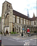 SZ0891 : Southeast side of St Stephen's Church, Bournemouth by Jaggery