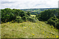 ST7768 : The north eastern side of Little Solsbury Hill by Bill Boaden