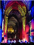 SO8554 : Ian Anderson performing in Worcester Cathedral by Philip Halling