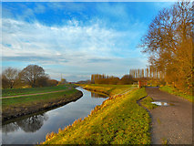 SJ8092 : River Mersey by Brian Frost