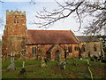 SJ3919 : The Church of St Andrew at Great Ness by Peter Wood