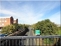 NZ4057 : View north from the Coronation Road footbridge by Robert Graham