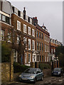 TQ2887 : Housing terrace, Highgate Hill by Julian Osley