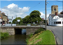 TF5002 : A1101 road bridge across the River Nene in Upwell by Mat Fascione