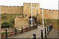SK9771 : Lincoln Castle West Gate by Richard Croft
