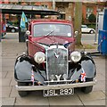 SJ9494 : 1935 Vauxhall 12hp Light Six Saloon JSL 293 by Gerald England