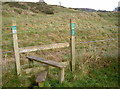 ST5055 : Stile to the old lead mines by Neil Owen