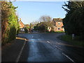 TL9165 : Heath Road, Thurston by Hugh Venables