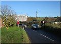 TL6963 : End of Moulton Road by Hugh Venables
