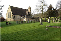 SK1820 : Dunstall parish hall and churchyard by Philip Jeffrey