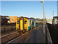 SO1709 : Ebbw Vale Town station by Gareth James