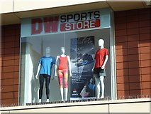 SO8554 : Window display in a sports shop by Philip Halling