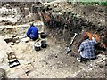 TQ8020 : Archaeological excavation at Brede High Farm by Patrick Roper