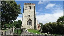 SJ5608 : Wroxeter - St Andrew's Church by Colin Park