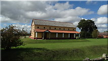 SJ5608 : Wroxeter - Reconstruction of Roman house by Colin Park