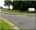 ST2995 : Distances sign near Cwmbran Drive, Cwmbran by Jaggery