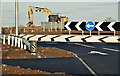 J3560 : New roundabout, Temple crossroads - December 2016(3) by Albert Bridge