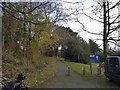 ST7863 : Path from car park to the American Museum by David Smith