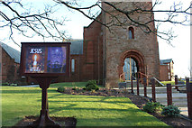 NS3525 : St Nicholas Parish Church, Prestwick by Billy McCrorie
