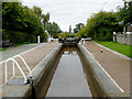 SJ5242 : Staircase locks at Grindley Brook in Shropshire by Roger  Kidd